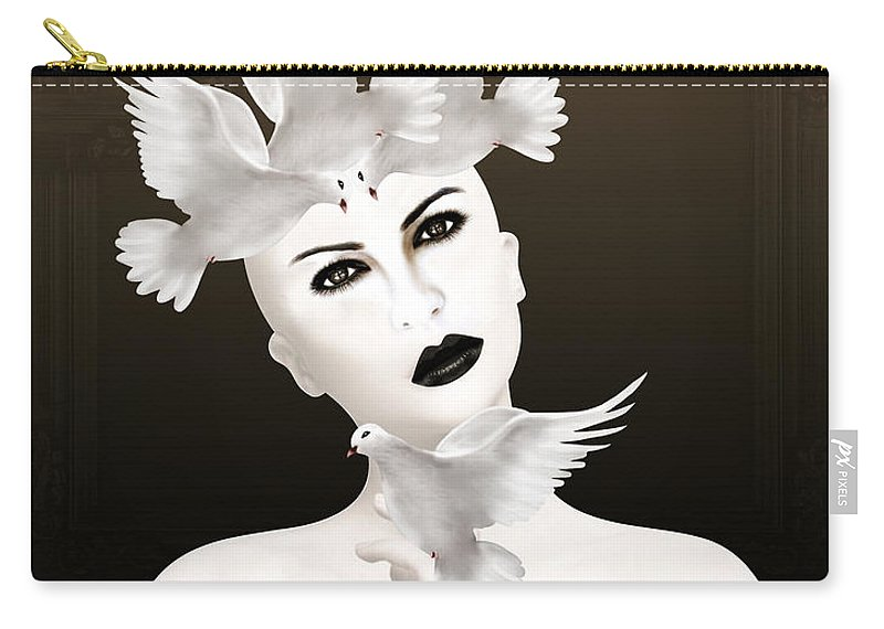 Woman Carry-all Pouch featuring the photograph Magical 3 by Mark Ashkenazi