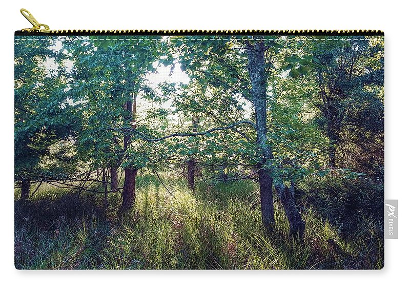Light Carry-all Pouch featuring the digital art Magical Light by Linda Unger