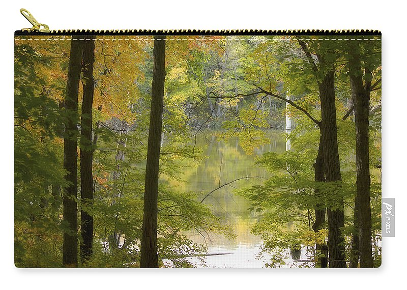 Maplewood State Park Carry-all Pouch featuring the photograph Magical Maplewood by Penny Meyers