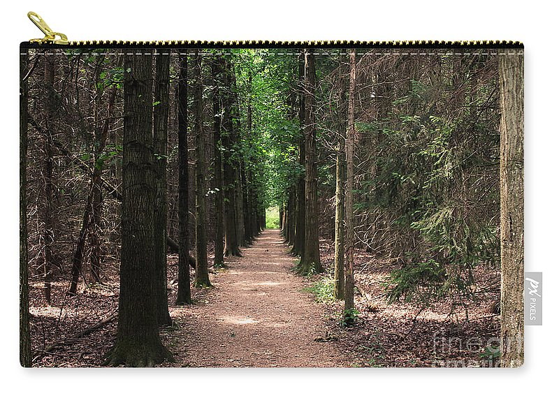 Trees Carry-all Pouch featuring the photograph Magical Path by Bruce Patrick Smith