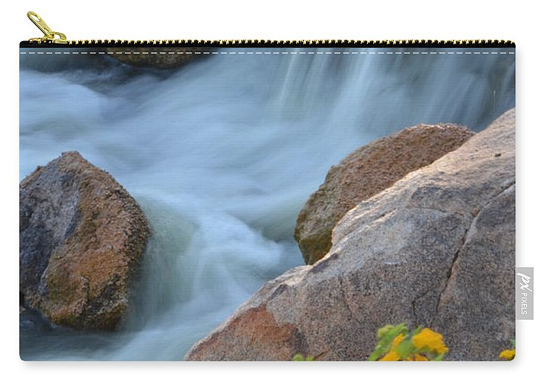 Deb Halloran Carry-all Pouch featuring the photograph Magical Waters by Deb Halloran