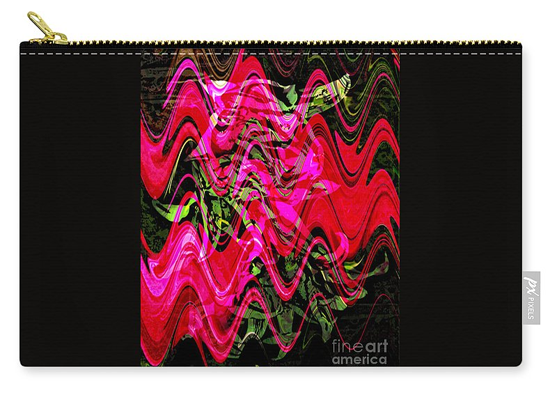 Digital Image Carry-all Pouch featuring the digital art Magnet by Yael VanGruber