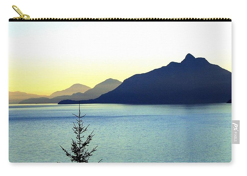 Vancouver Carry-all Pouch featuring the photograph Magnificent Howe Sound by Will Borden