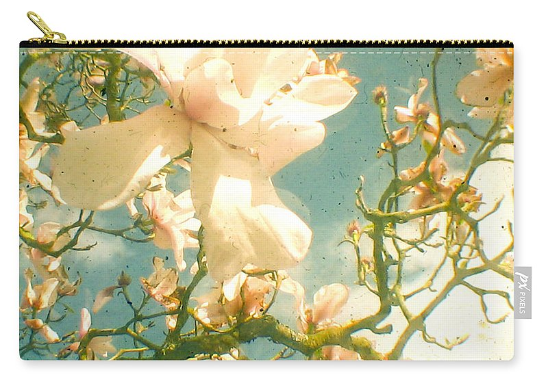 Magnolia Carry-all Pouch featuring the photograph Magnolia by Cassia Beck