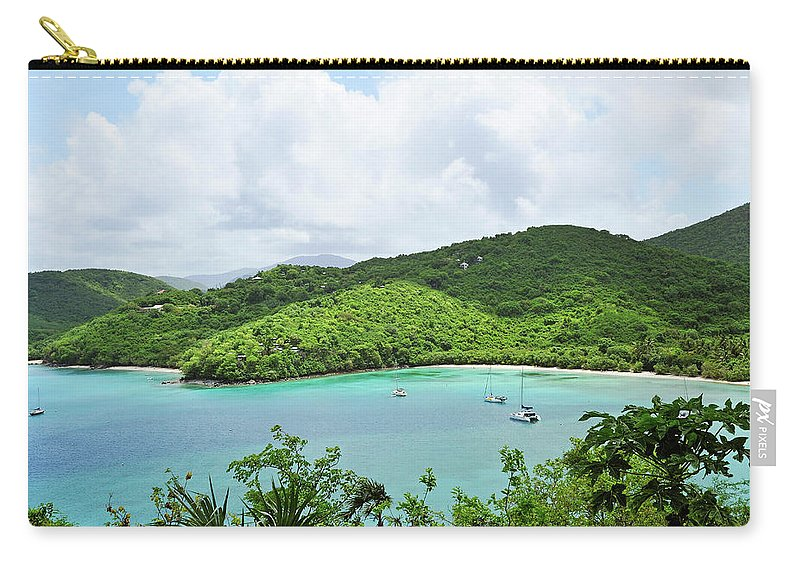 Scenics Carry-all Pouch featuring the photograph Maho Bay, St. John by Driendl Group