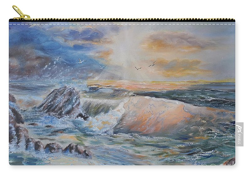 Beach Carry-all Pouch featuring the photograph Majesty Of The Seas by Nava Thompson