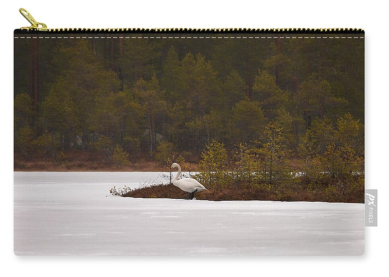 Finland Carry-all Pouch featuring the photograph Making Reservations by Jouko Lehto