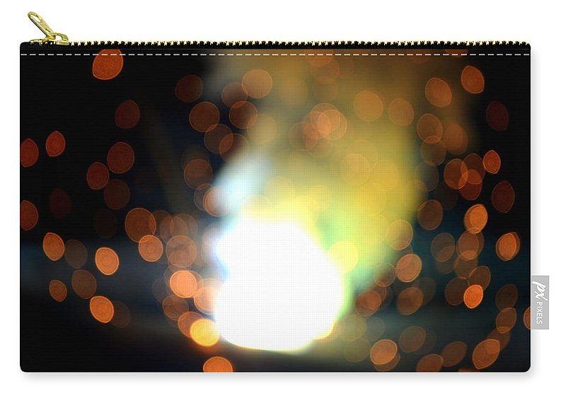Smoke Carry-all Pouch featuring the photograph Man Of Smoke by Riad Belhimer