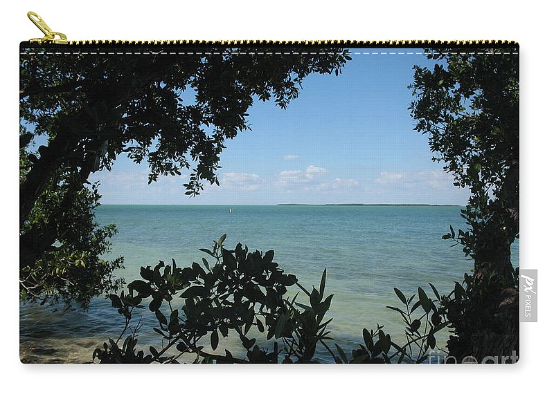 Mangrove Carry-all Pouch featuring the photograph Mangrove by Christiane Schulze Art And Photography