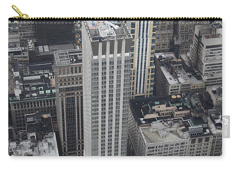 City Carry-all Pouch featuring the photograph Manhattan City Canyons by Christiane Schulze Art And Photography