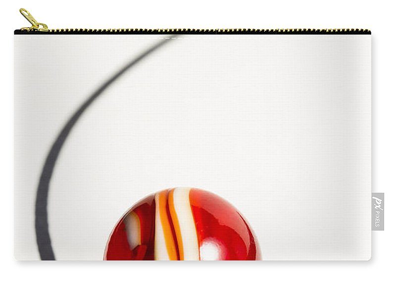 Marble Carry-all Pouch featuring the photograph Marble Rooster Curve 1 by John Brueske