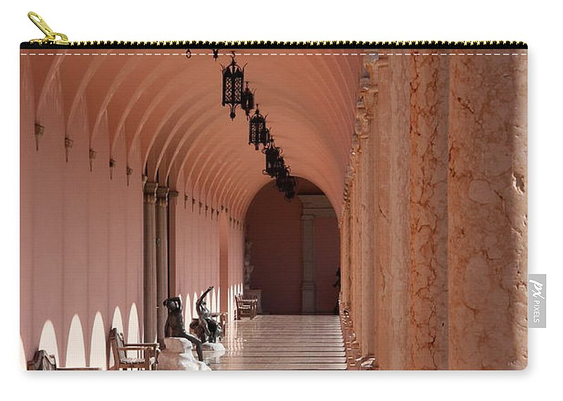 Marple Carry-all Pouch featuring the photograph Marple Archway by Christiane Schulze Art And Photography