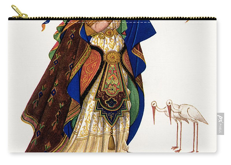 19th Century Carry-all Pouch featuring the photograph Marsh Kings Daughter by Granger