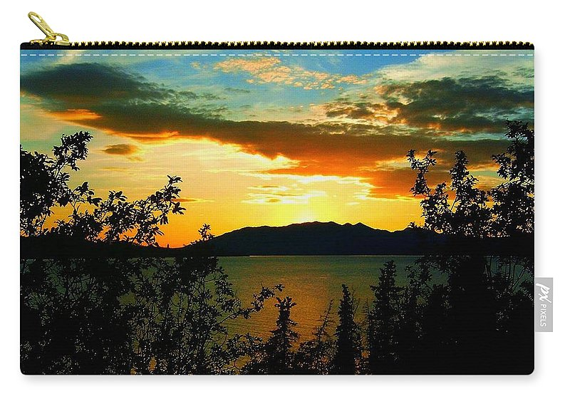 North America Carry-all Pouch featuring the photograph Marsh Lake - Yukon by Juergen Weiss