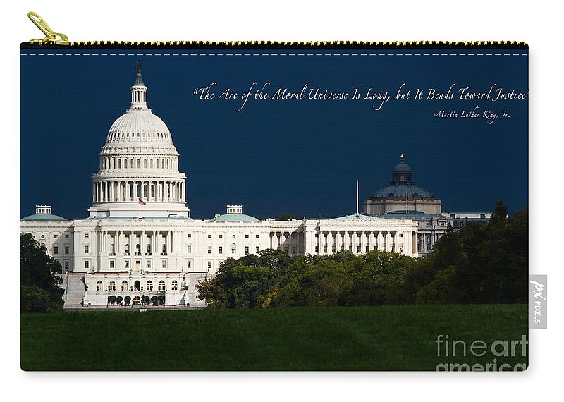 Washington Dc Carry-all Pouch featuring the photograph Martin Luther King Jr. by Doug Sturgess