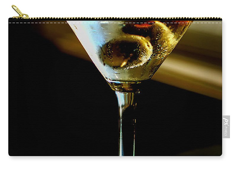 Martini Carry-all Pouch featuring the photograph Martini by David Kay