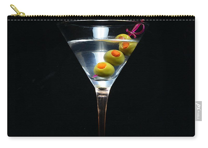 Paul Ward Carry-all Pouch featuring the photograph Martini by Paul Ward