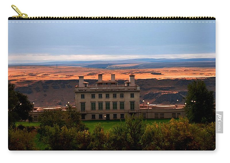 Museum Carry-all Pouch featuring the photograph Mary Hill Museum by Image Takers Photography LLC