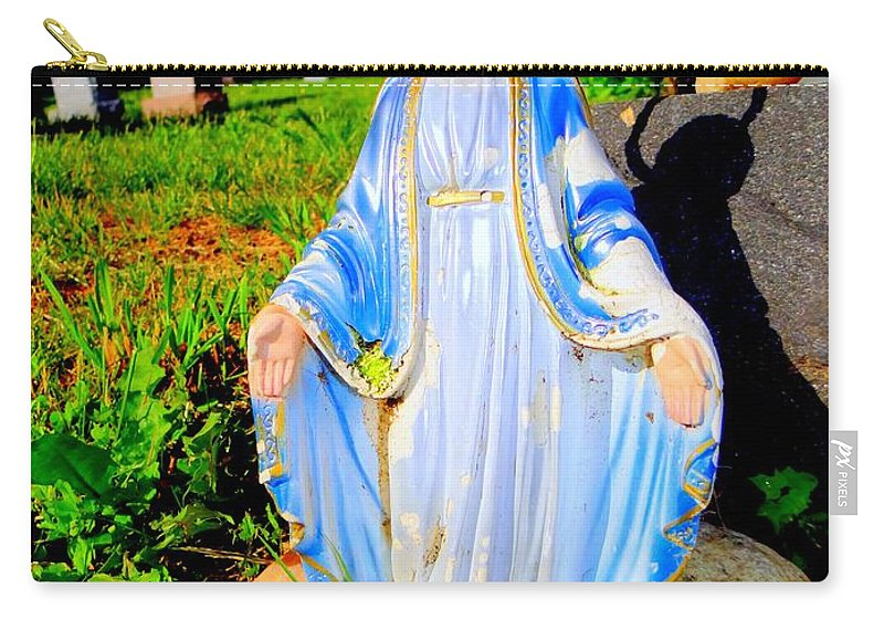 Pop Art Carry-all Pouch featuring the photograph Mary In Sunlight by Ed Weidman