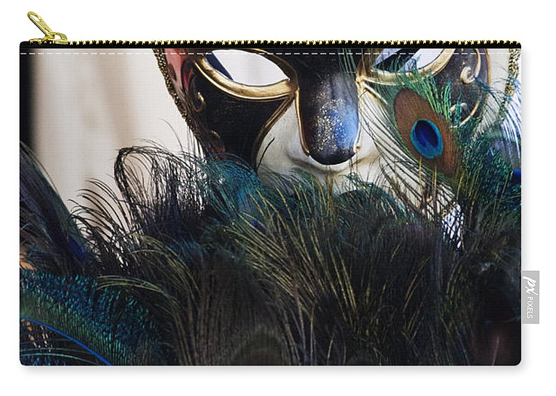 Mask Carry-all Pouch featuring the photograph Mask by Guy Shultz
