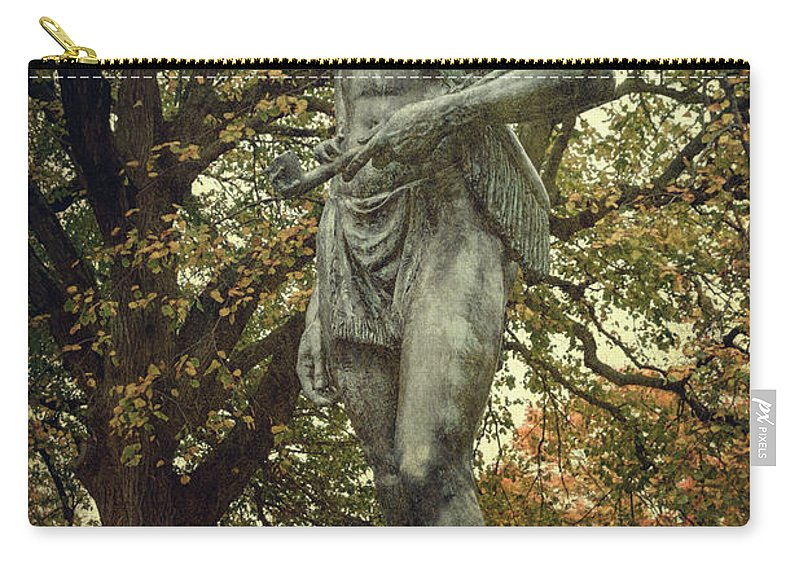 Joan Carroll Carry-all Pouch featuring the photograph Massasoit Sachem by Joan Carroll