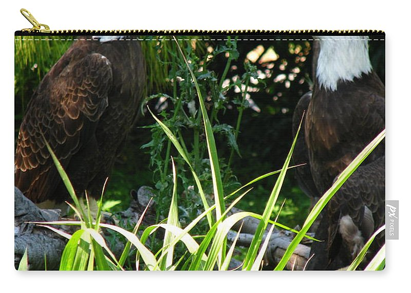 Patzer Carry-all Pouch featuring the photograph Mates by Greg Patzer