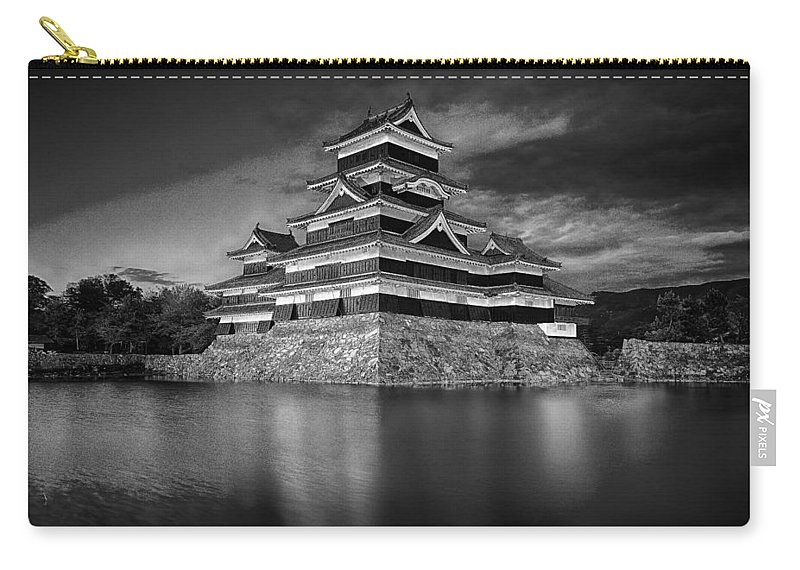 Castle Carry-all Pouch featuring the photograph Matsumoto Castle by Jonah Anderson