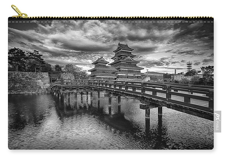 Castle Carry-all Pouch featuring the photograph Matsumoto by Jonah Anderson