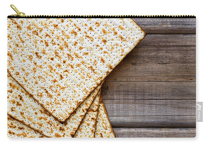 Celebration Carry-all Pouch featuring the photograph Matza Background by Vlad Fishman