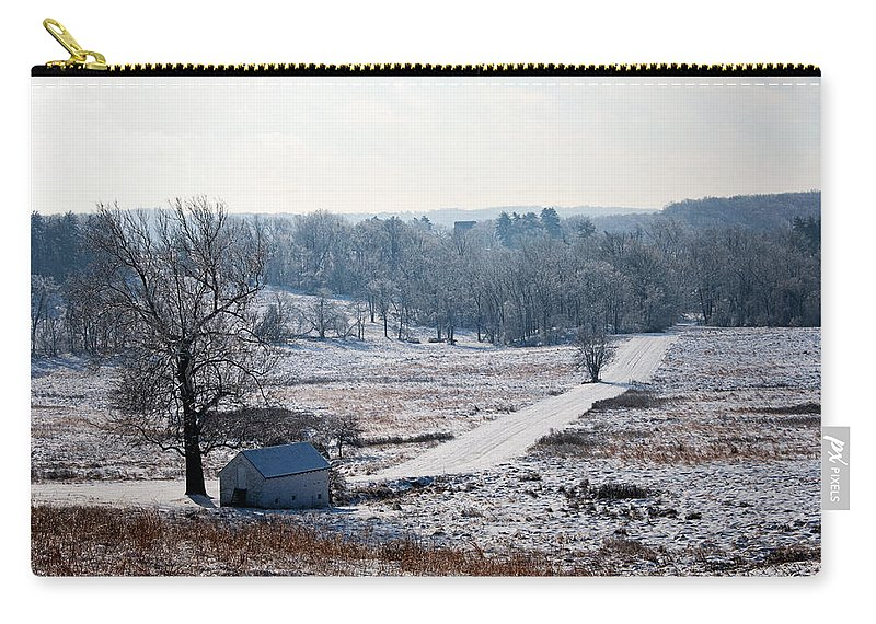 House Carry-all Pouch featuring the photograph Maurice Stevens Spring House by Michael Porchik