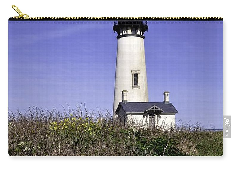 Newport Carry-all Pouch featuring the photograph May At The Lighthouse by Image Takers Photography LLC - Laura Morgan