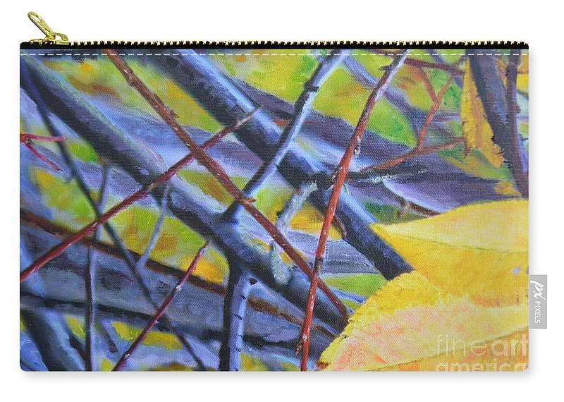 Mayday Carry-all Pouch featuring the photograph Mayday In September by Brian Boyle