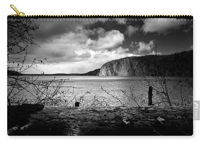 Mazinaw Carry-all Pouch featuring the photograph Mazinaw Rock by Cale Best