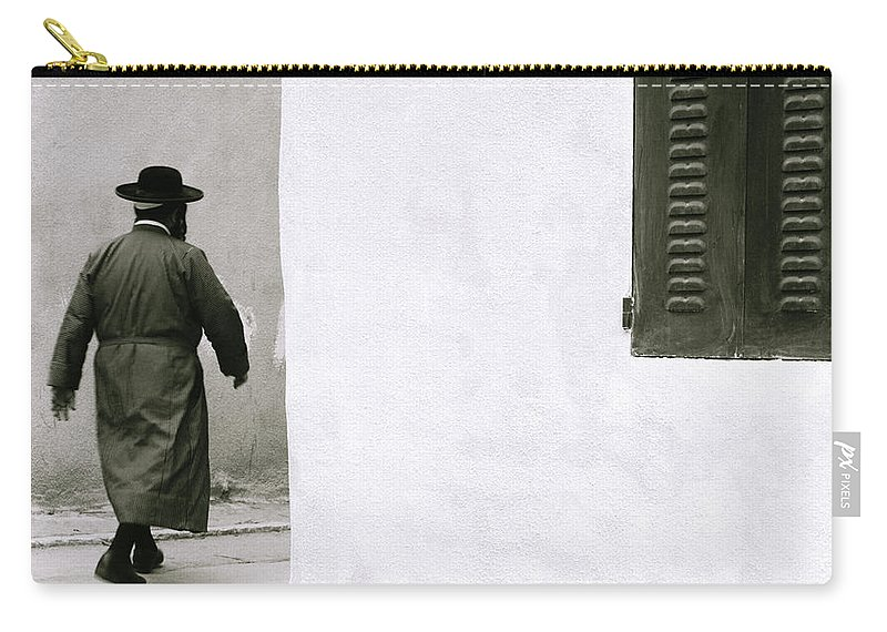 Jew Carry-all Pouch featuring the photograph Mea Shearim by Shaun Higson