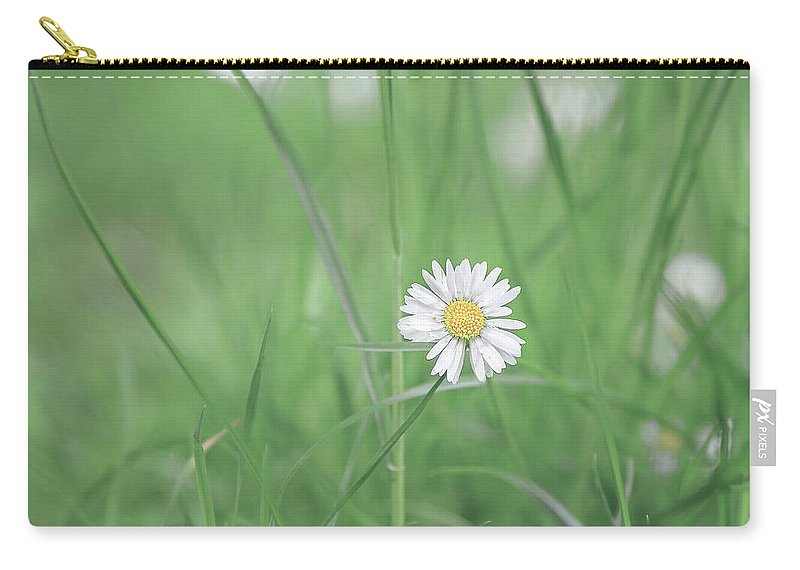 Flower Carry-all Pouch featuring the photograph Meadows Of Heaven by Evelina Kremsdorf