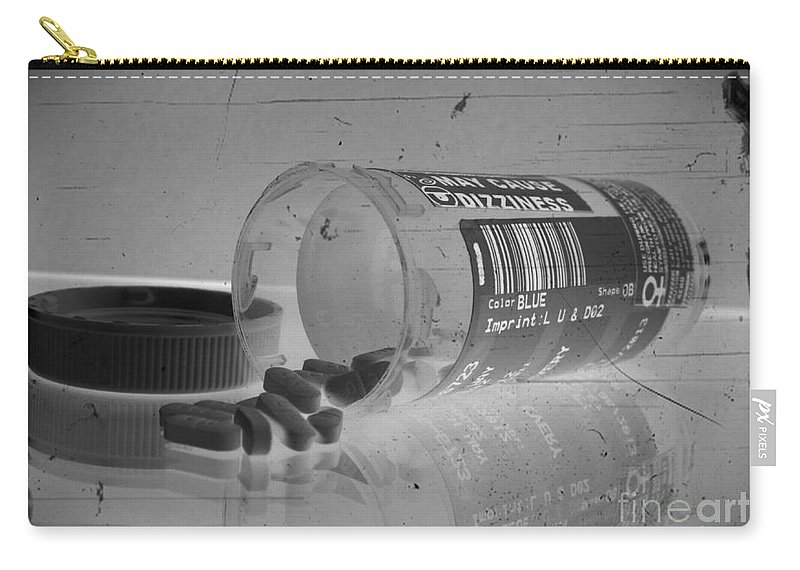 Medication 2 Carry-all Pouch featuring the mixed media Medication 2 by Chalet Roome-Rigdon