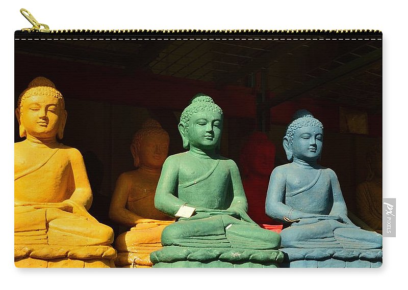 Color Carry-all Pouch featuring the photograph Meditation by Meganne Peck