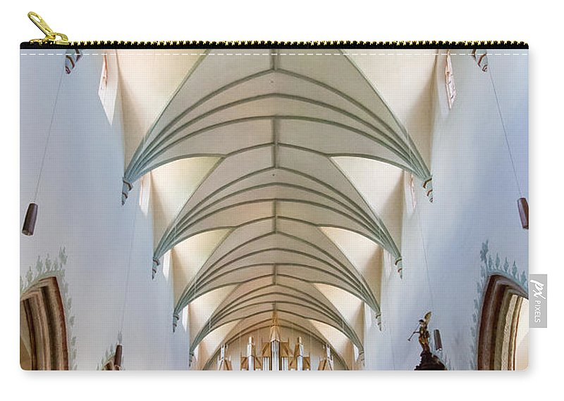 Jenny Setchell Carry-all Pouch featuring the photograph Memmingen Pipe Organ by Jenny Setchell