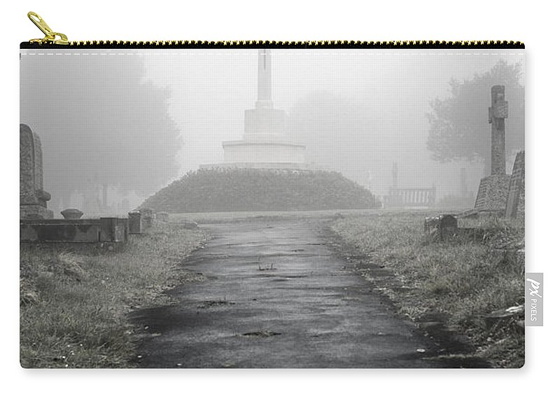 Uk Carry-all Pouch featuring the photograph Memorial by Christopher Rees
