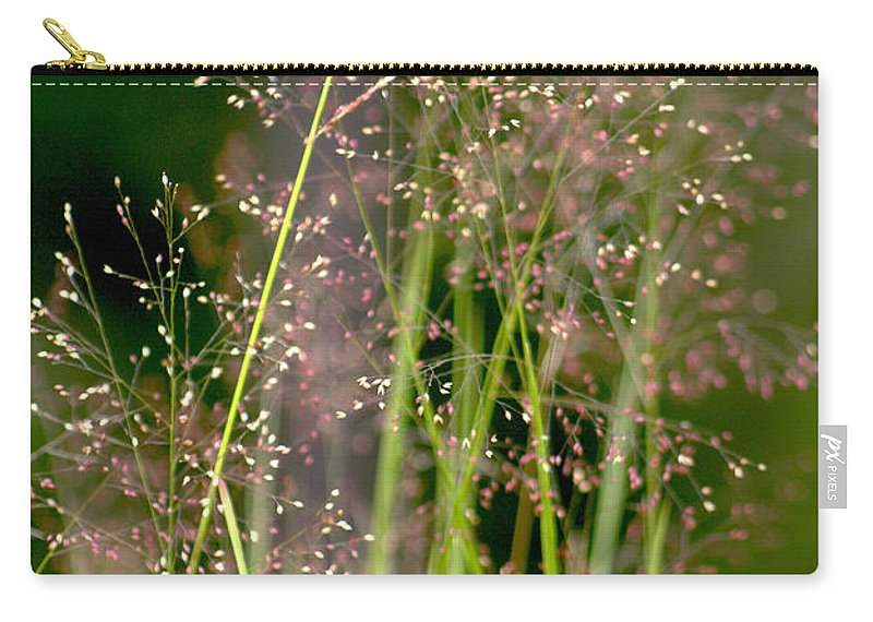 Floral Carry-all Pouch featuring the photograph Memories Of Springtime by Holly Kempe