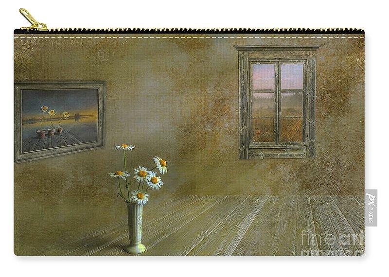 Art Carry-all Pouch featuring the photograph Memories Of Summer by Veikko Suikkanen