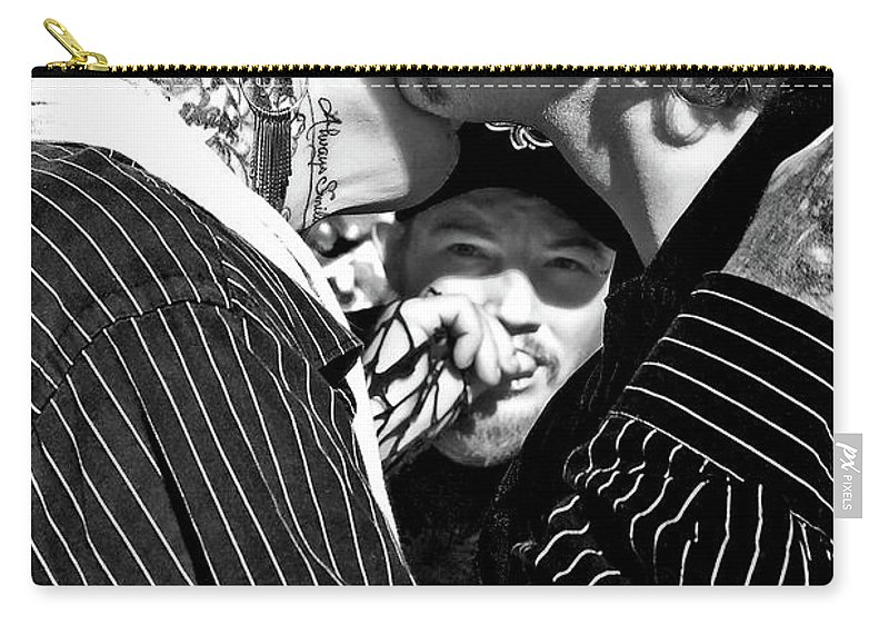 Lovers Carry-all Pouch featuring the photograph Menage A Trois by Kathleen K Parker
