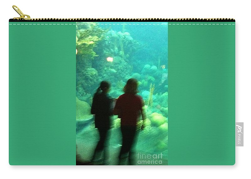 Water Carry-all Pouch featuring the photograph Mermaids by Melissa Darnell Glowacki