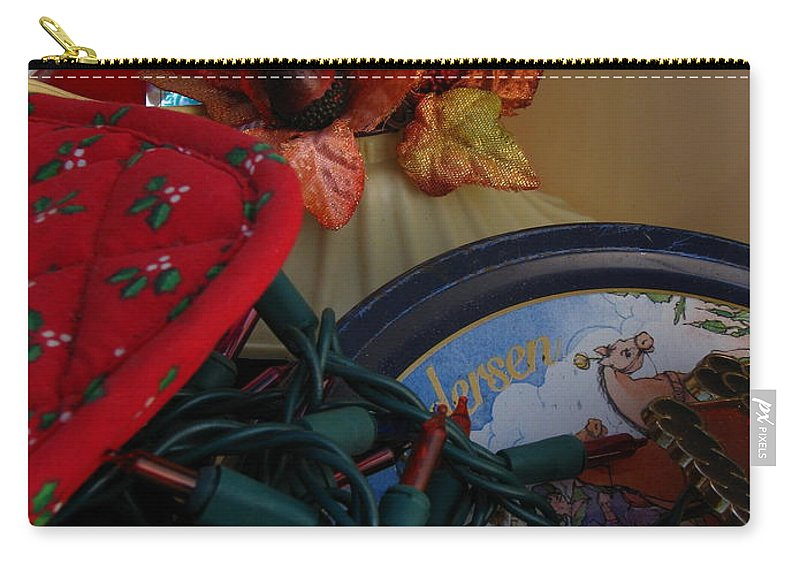 Patzer Carry-all Pouch featuring the photograph Merry Christmas by Greg Patzer
