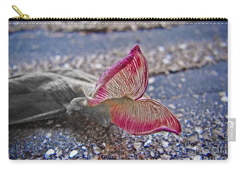 Butterfly Carry-all Pouch featuring the photograph Metamorphosis by Casper Cammeraat