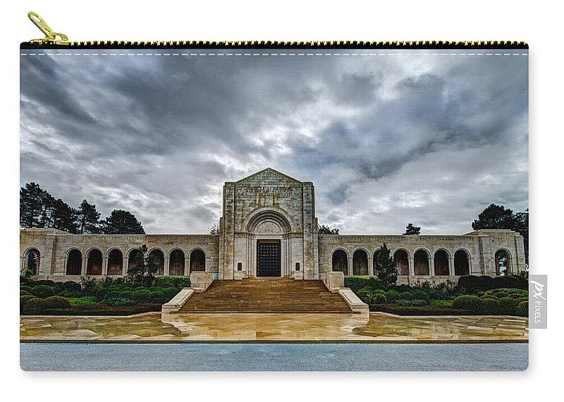 Meuse-argonne Carry-all Pouch featuring the photograph Meuse-argonne Tribute by Chad Dutson
