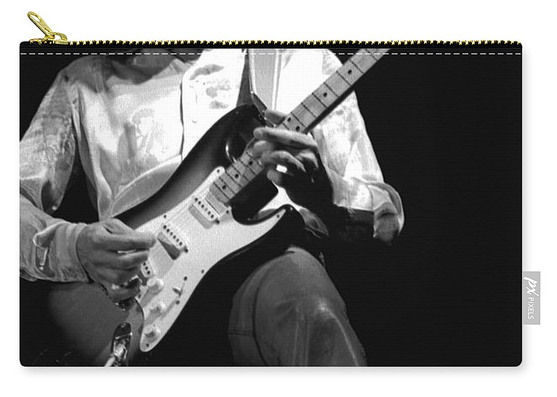 Mick Ralphs Carry-all Pouch featuring the photograph Mick Rocks 1977 by Ben Upham