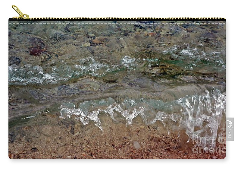 Waves Carry-all Pouch featuring the photograph Microwaves I by Lilliana Mendez