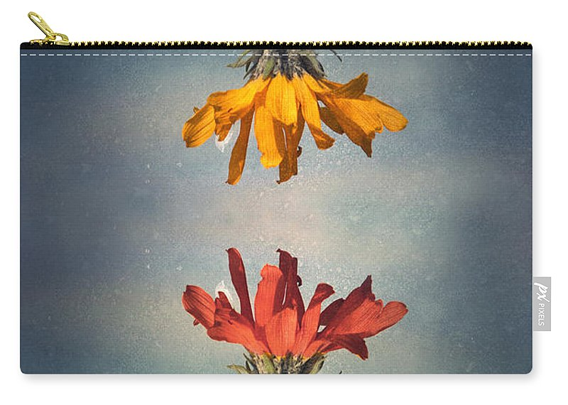 Middle Ground Carry-all Pouch featuring the photograph Middle Ground by Tara Turner