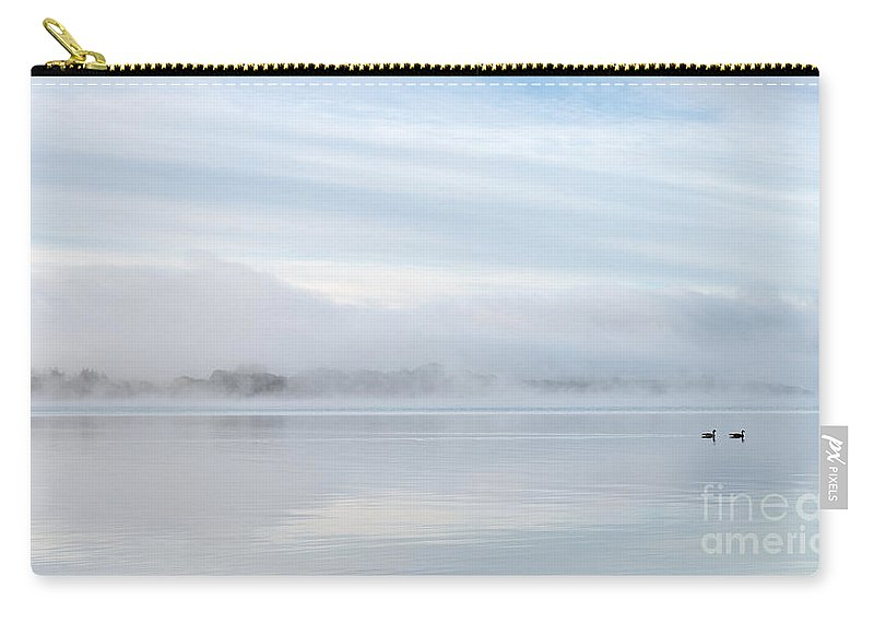 Autumn Carry-all Pouch featuring the photograph Milarrochy In The Mist by Richard Burdon